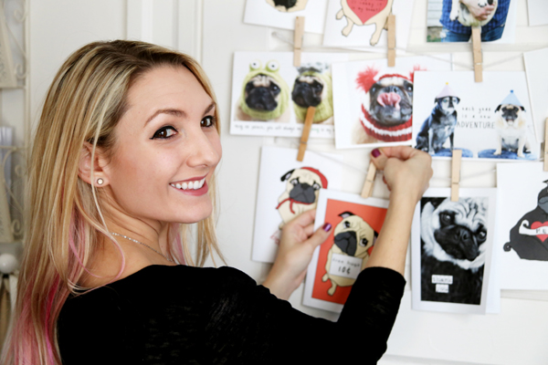 All You Need is Pug Greeting Card Gallery